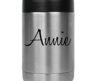 Personalized Beverage Holder- 24810 Name in Honey Script