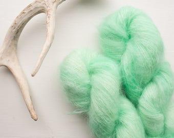 Jadeite {Lace Weight} Kid Mohair, Nylon Blend