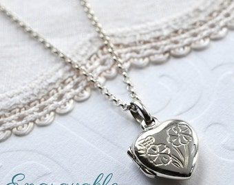 Sterling Silver Sweet Heart Locket