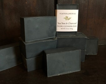 Lemon Tea Tree & Charcoal Facial Bar