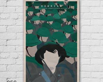 Dunkirk Art Print. Christopher Nolan. Pop Culture and Modern Wall Decor, 11x17, 13x19, 16x20, 18x24, A1 Size. Select a size. Item no. 056
