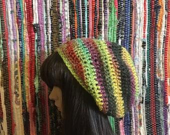 Slouch Beanie, Slouchy Beanie, Crochet Beanie, Unique slouch hat, slouch hat, slouchy hat, womens slouch hat, Women's beanie, crochet hat