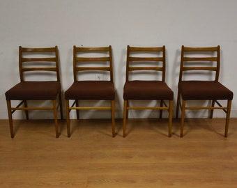 Danish Modern Dining Chairs - Set of 4
