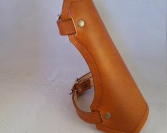 Zelda inspired, handmade leather bracer
