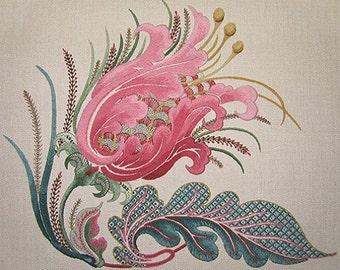 Talliaferro's La Serenissima Crewel Embroidery Pattern