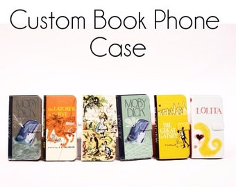 Book phone /iPhone flip Wallet case-Custom iPhone X, 8, 7, 6, 6 7 & 8 plus, 5, 5s, 5c Samsung Galaxy S9 S8 S7 S6 S5 Note 4, 5, 7, 8 LG