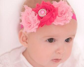 Easter headband, lavender headband, turquoise headband, pink headband, purple headband, baby headband, flower girl headband, photo props