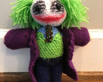 Joker Crochet Doll Batman