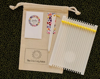Little Weaving Loom Kit Floral Accents