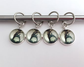 Totoro Stitch Markers or Progress Keepers