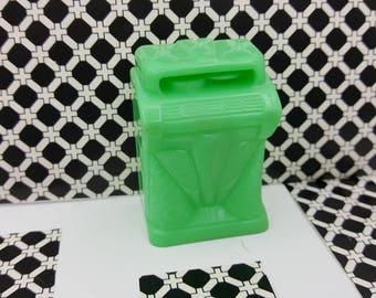 Marx Rec Room  Rumpus Room Juke Box Toy Dollhouse Traditional Style Hard Plastic Green