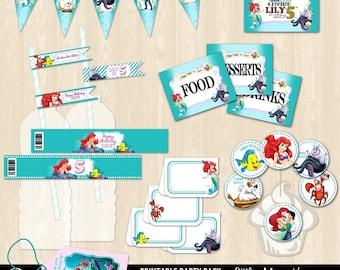 Little Mermaids Printable Bundle Package