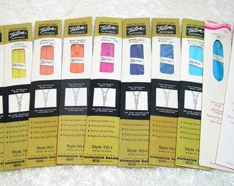 "Talon 5"" Nylon Zippers, Set of 10 Assorted Colors"