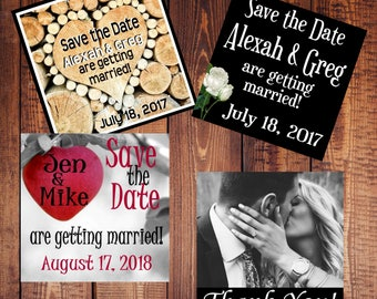 Small Save the Date Magnets - Affordable!