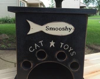 Primitive Cat Toy Box