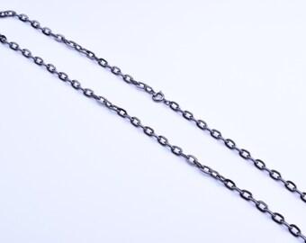 "24"" curb Chain, spring clasp"