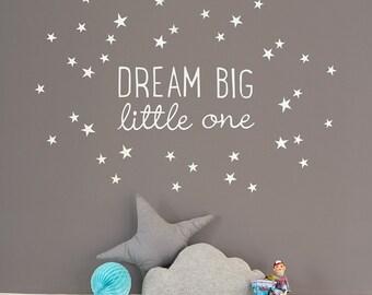 Träumen Big Little One ~ Mini-Wandtattoo