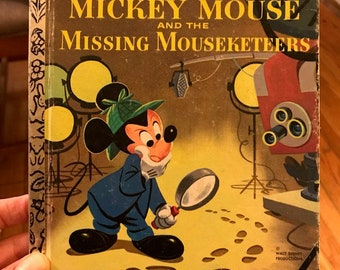 Mickey and the Missing Mouseketeers Little Golden Book
