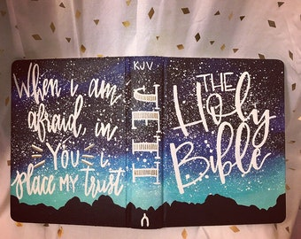 Shiloh Springs Theme Painted Bible