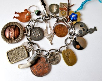 EtsyMetal Charm Swap 13 Bracelet