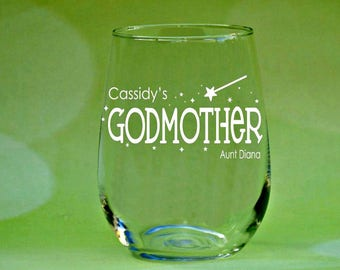 Personalized Godmother Gift, Personalized Godparent Gifts, Godmother birthday Gifts, Presents for Godparents, Godparent Gift Ideas, Baptism