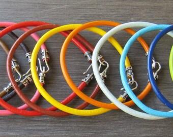 Leather Bracelet Choice of Color (3MM)-1X