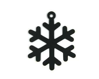 Paper Snowflake Tag Die Cut Set of 9