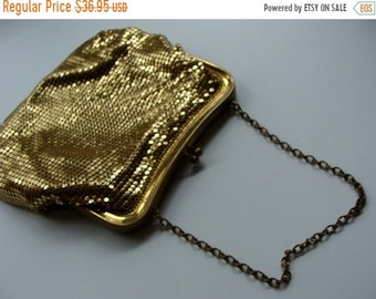 ONSALE Antique Mesh Whiting and Davis Co. Victorian Edwardian Purse