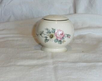 Vintage Floral Salt Shaker