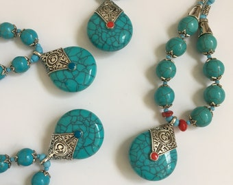 Turquoise Berber Necklace