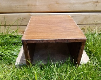 Wood Couch Armrest Table - Handmade