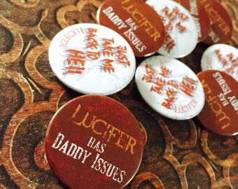 Lucifer TV Badges