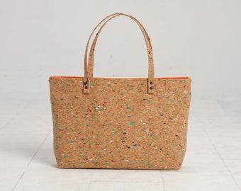 Cork Bag, Cork Bucket Bag, Cork Beach Bag, Casual Tote Bag, Cork Summer bag, Hobo Tote, Cork Tote Bag, Summer Bag, Weekend Bag, Mothers Day