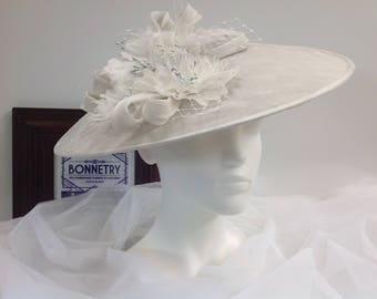Dove Grey Spring Picture Hat