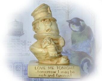 Paula figurine - humorous gift - novelty figurine -  R & W Berries - vintage Russ Berrie -  # 74