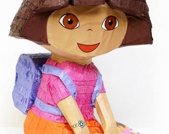Dora the Explorer 3D Pull String Pinata