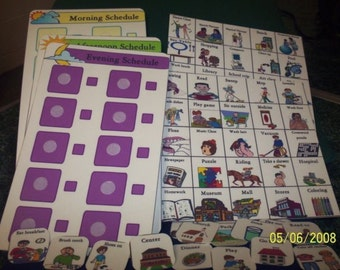 3 Daily Schedules Autism 90 Pecs Speech Therapy