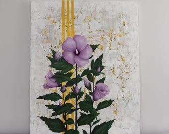 Resurrection Sunday Painting / Fine Art, Lent Art, Religious Art, Original Painting, Wall Art, Canvas Art, Acrylic