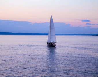 Sailing Boat in Seattle Photography