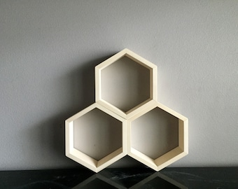 Hexagon Geometric Honeycomb Shelf