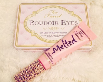 Swarovski Crystal Too Faced Melted Liquified Lipstick Rose Gold Crystals