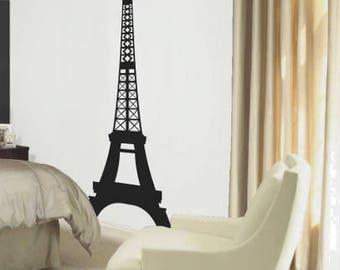 Parisian Eiffel Tower Vinyl Wall Decal