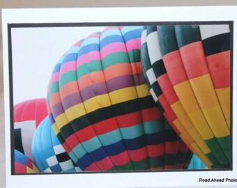 photo card, hot air balloons, Albuquerque, Balloon Fiesta
