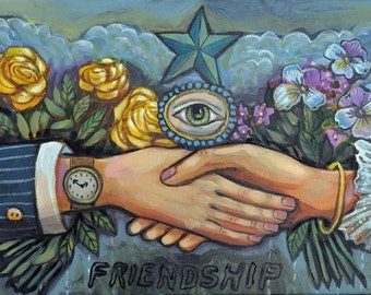 Old Friends - Print