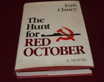 The Hunt for Red October by Tom Clancy First Edition
