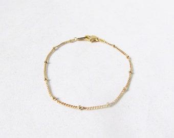 satellite bracelet stackable bracelets gold layering bracelets, layered bracelet