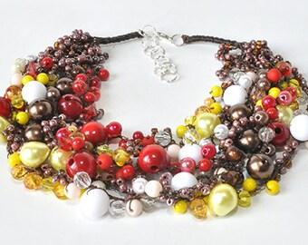 kama4you 3302 necklace crochet