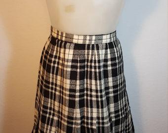 FREE  SHIPPING    Vintage  Pendelton  Skirt