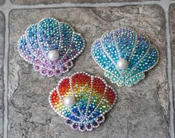 Royal Seashell Hair Clip/Brooch
