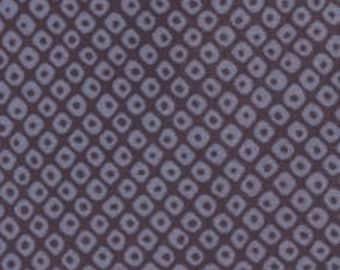 Fabric - Sevenberry Navy irregular spot - medium weight woven cotton